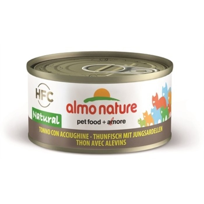 24x almo nature cat tonijn/sardines