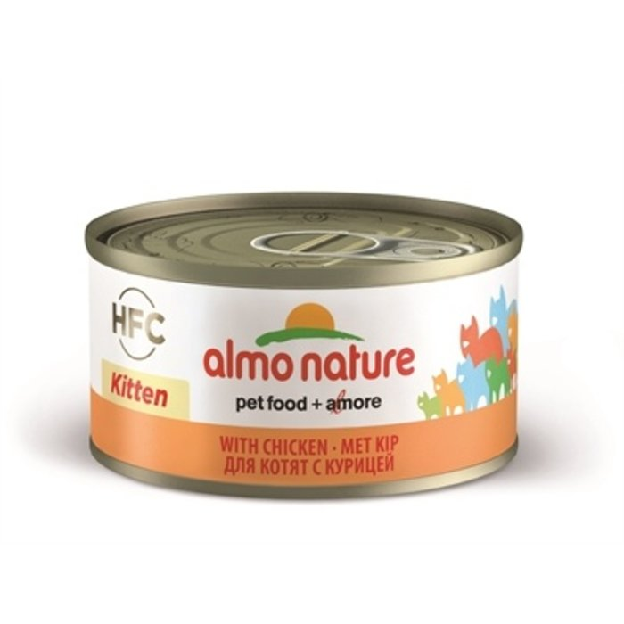 24x almo nature cat kitten kip