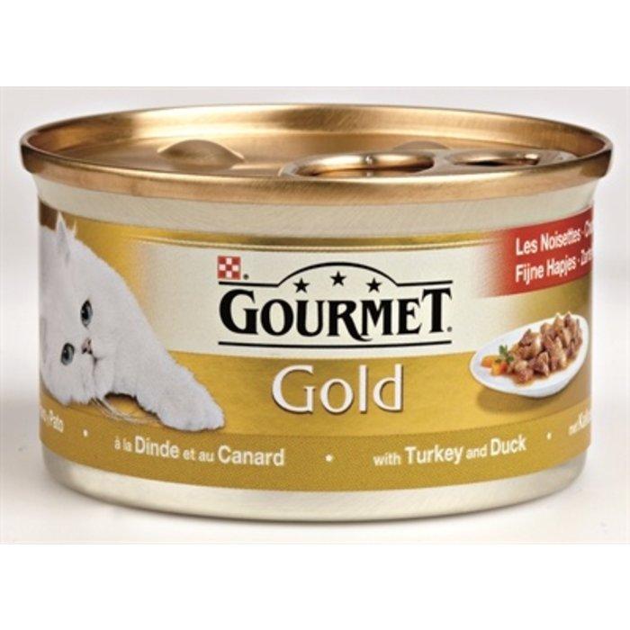 24x gourmet gold fijne hapjes kalkoen / eend