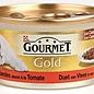 24x gourmet gold cassolettes duet van vlees in saus met tomaten