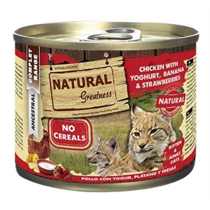 Natural greatness chicken / yoghurt