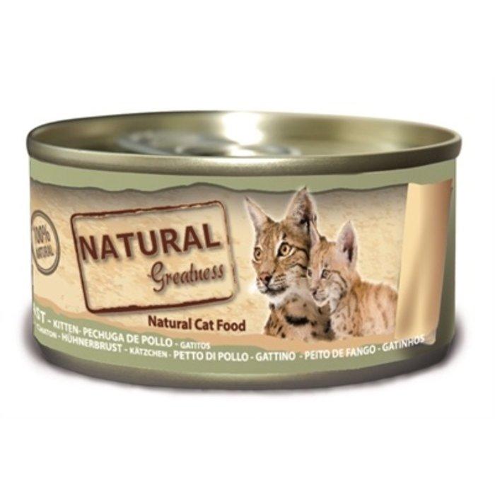 Natural greatness chicken kitten