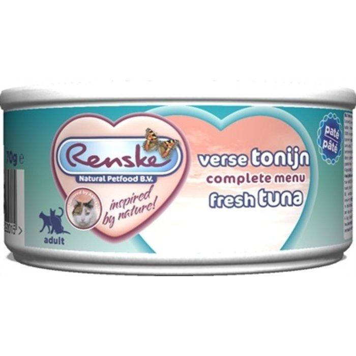 24x renske vers vlees maaltijd kat verse tonijn patÉ