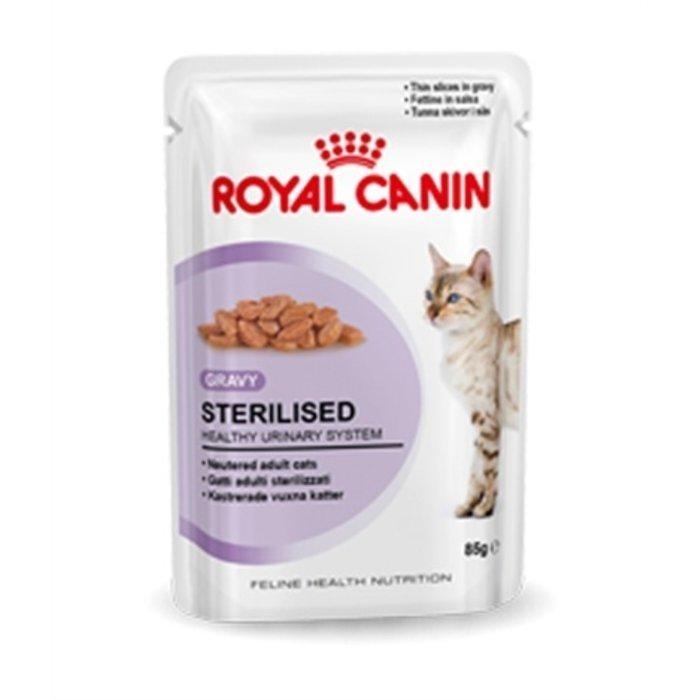 Royal canin feline sterilised in gravy