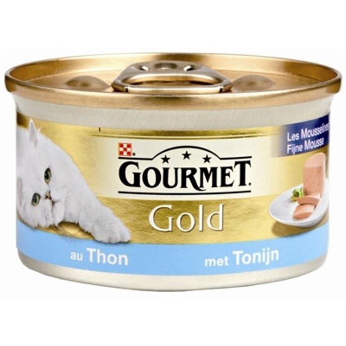 24x gourmet gold fijne mousse tonijn