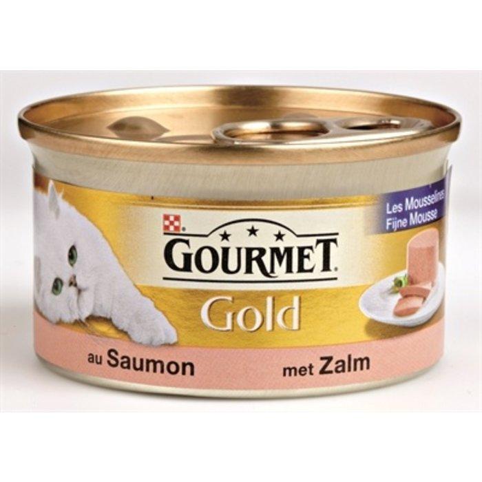 24x gourmet gold fijne mousse zalm