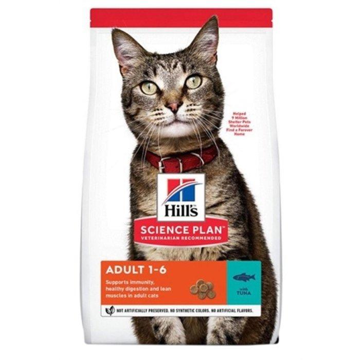 Hill's feline adult optimal care tonijn