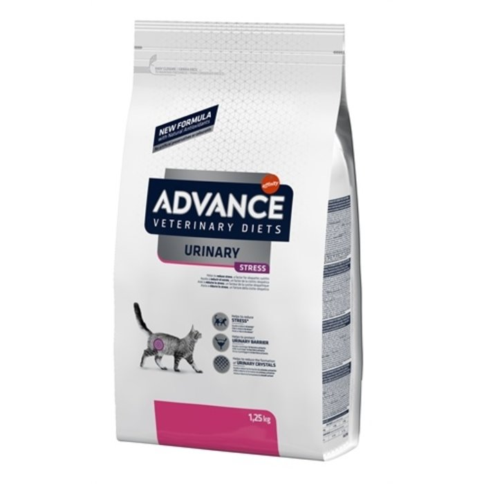 Advance veterinary cat urinary stress