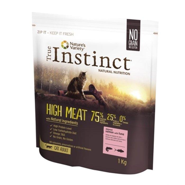 True instinct high meat salmon / tuna