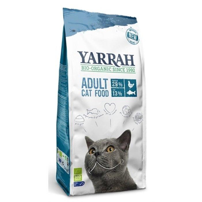 Yarrah cat biologische brokken vis (msc) zonder toegevoegde suikers