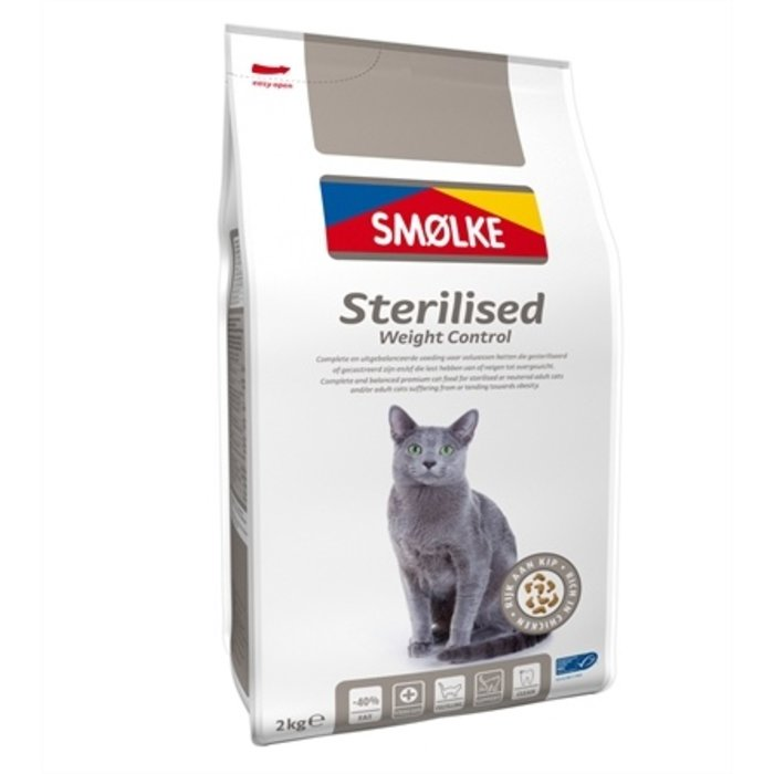 Smolke cat sterilised weight control
