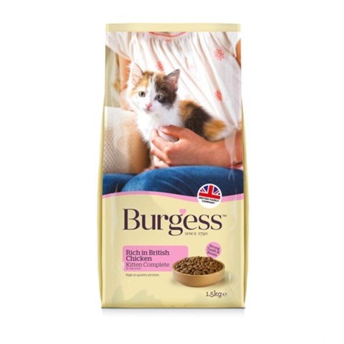 Burgess kitten rijk aan kip