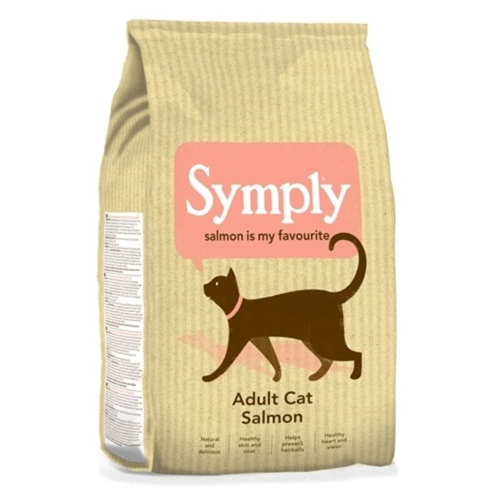 Symply cat adult kattenvoer zalm