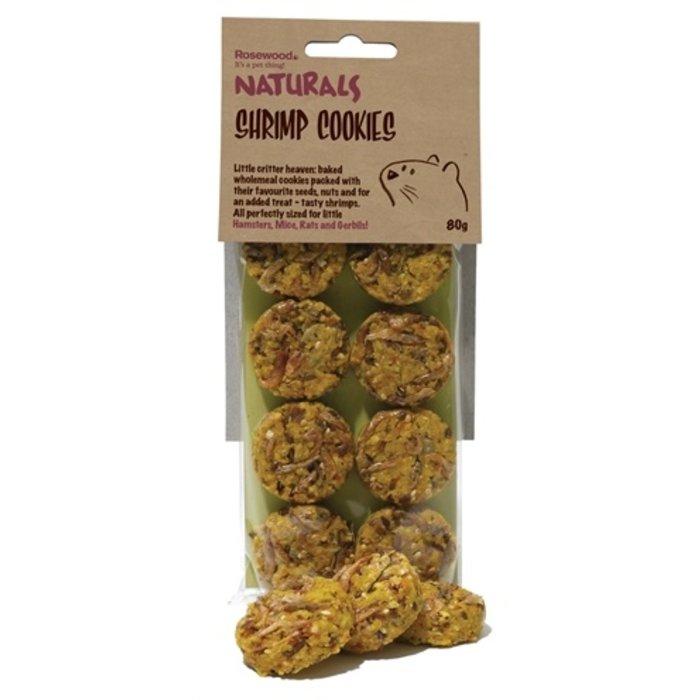 Rosewood naturals garnaalkoekjes