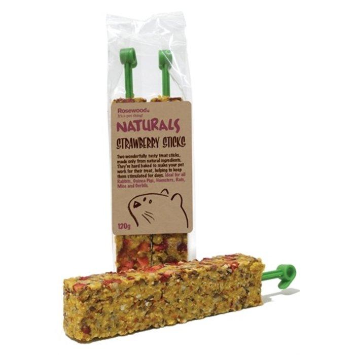 Rosewood naturals aardbei sticks