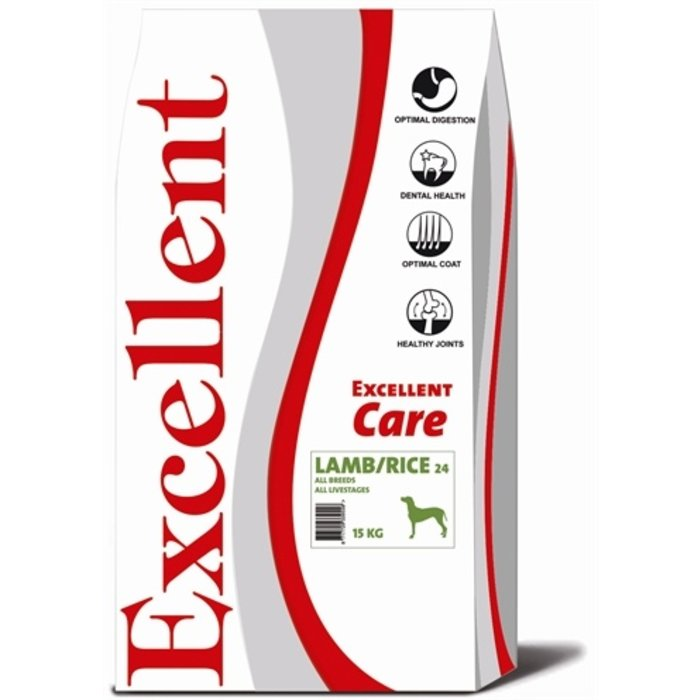 Excellent care lamb/rice 24