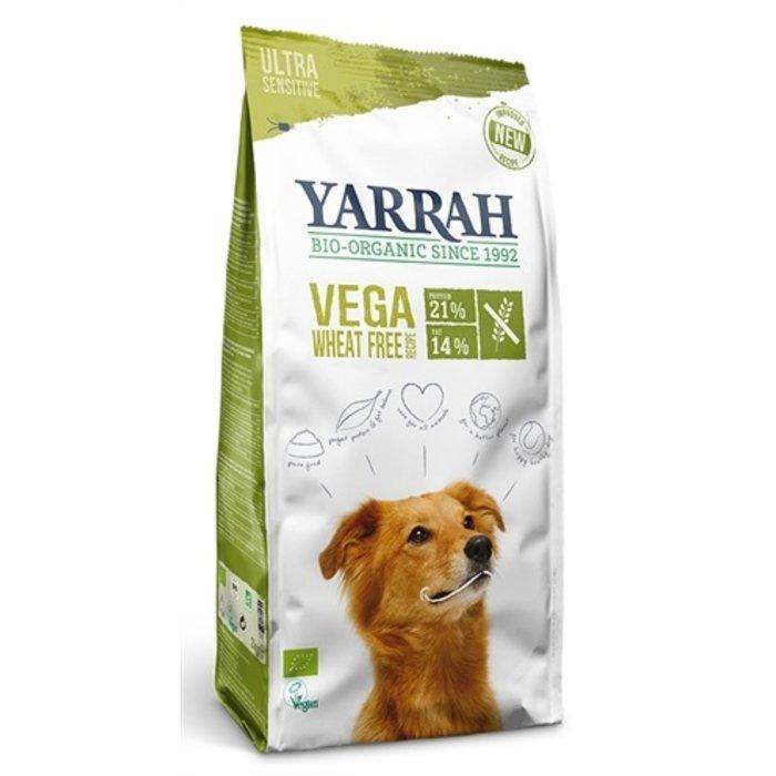 Yarrah dog biologische brokken vega ultra sensitive tarwevrij