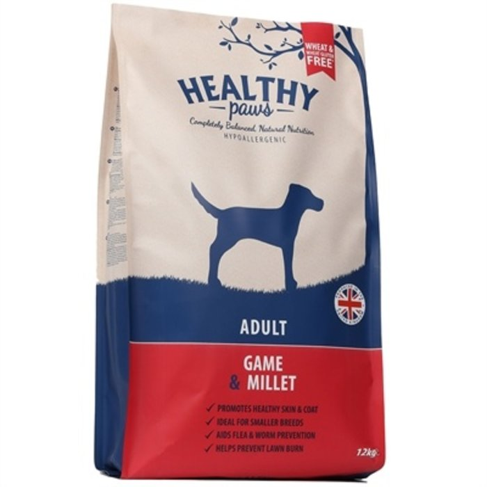 Healthy paws adult wild / gierst