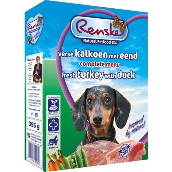 10x renske vers vlees kalkoen/eend