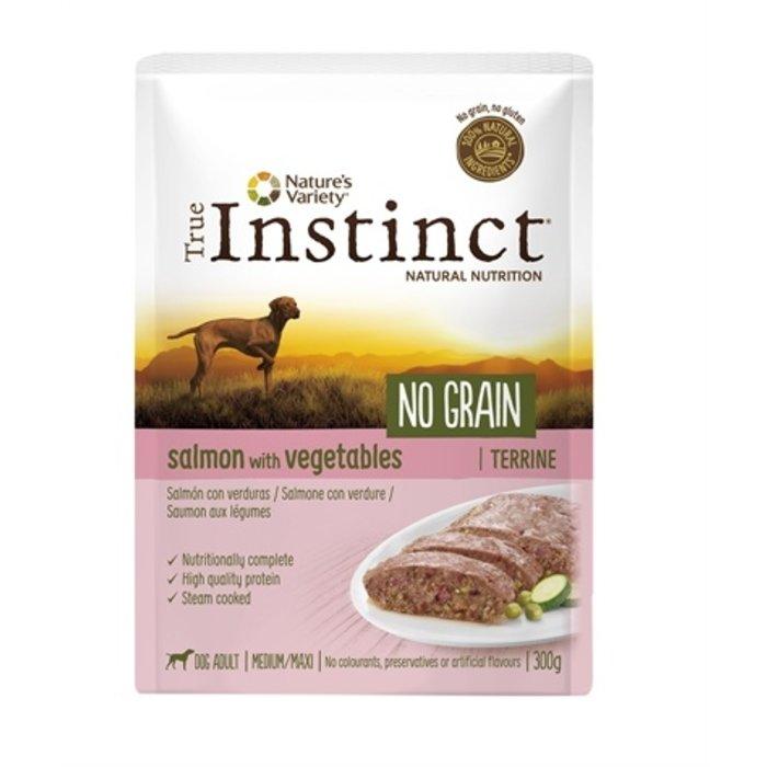 True instinct adult medium salmon terrine grain free
