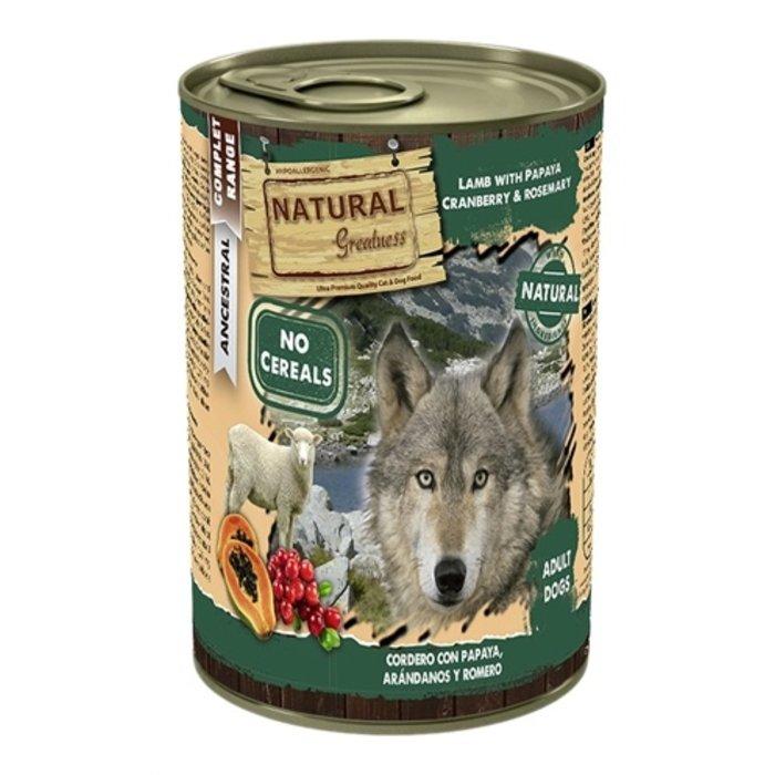 Natural greatness lamb / papaya