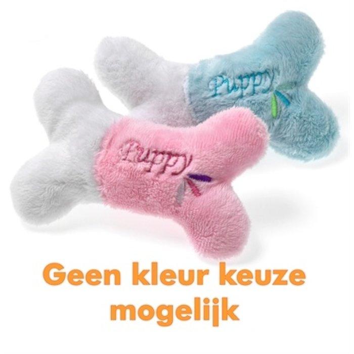 Karlie puppy botje roze of lichtblauw