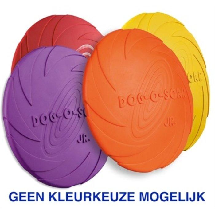 Rubber frisbee dog 0 soar assorti