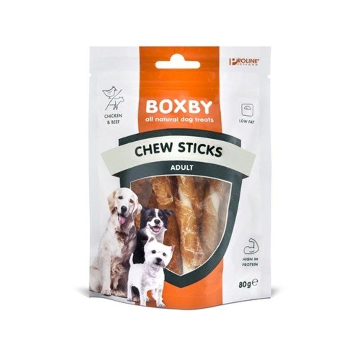Proline dog boxby chew sticks with chicken