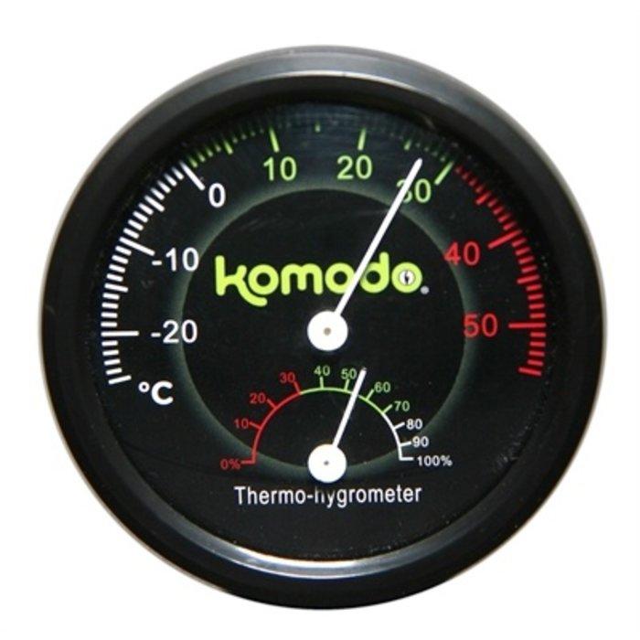 Komodo thermometer/hygrometer analoog