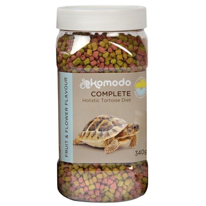 Komodo voer schildpad fruit/bloem