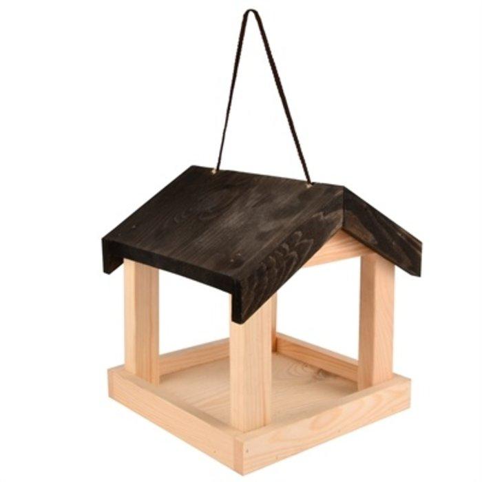 Voederhuis hangend hout