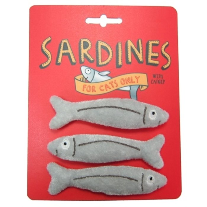 Happy meow catnip speelgoed sardines