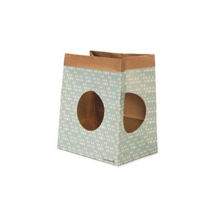 Beeztees kitten speelzak raisa papier mint