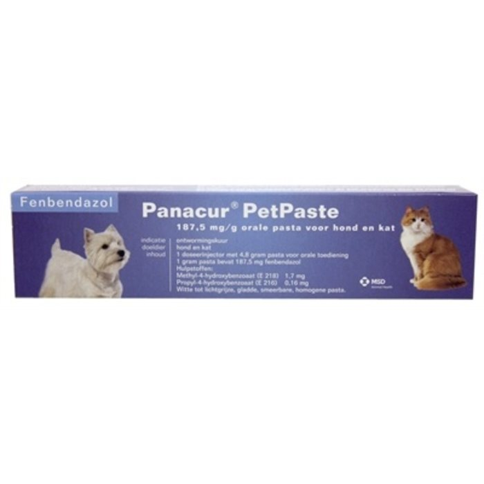 Panacure pet pasta injector