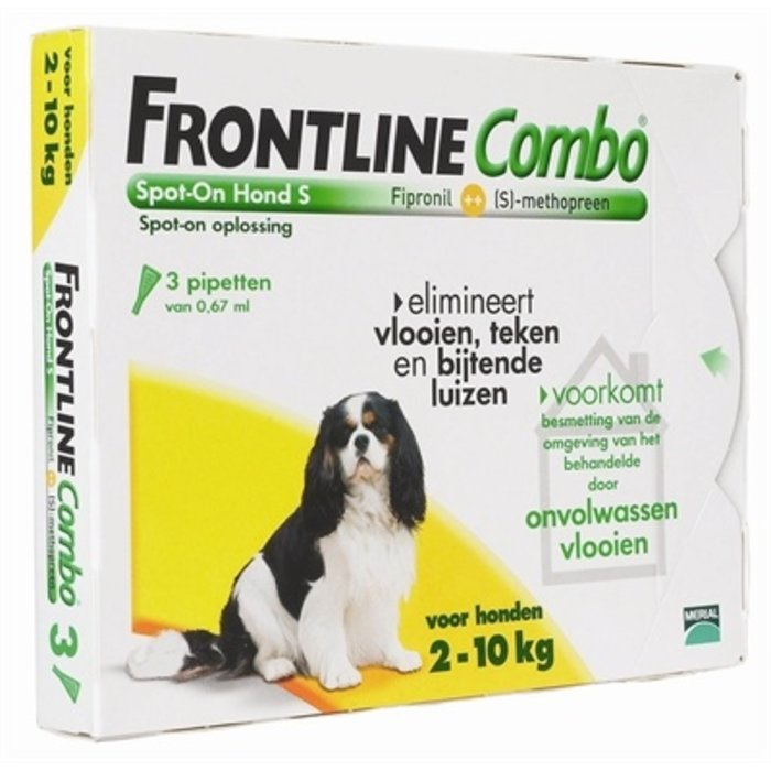 Frontline hond combo spot on 3 pack