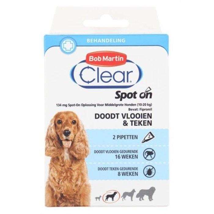 Bob martin clear spot on hond medium