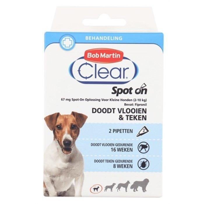 Bob martin clear spot on hond small