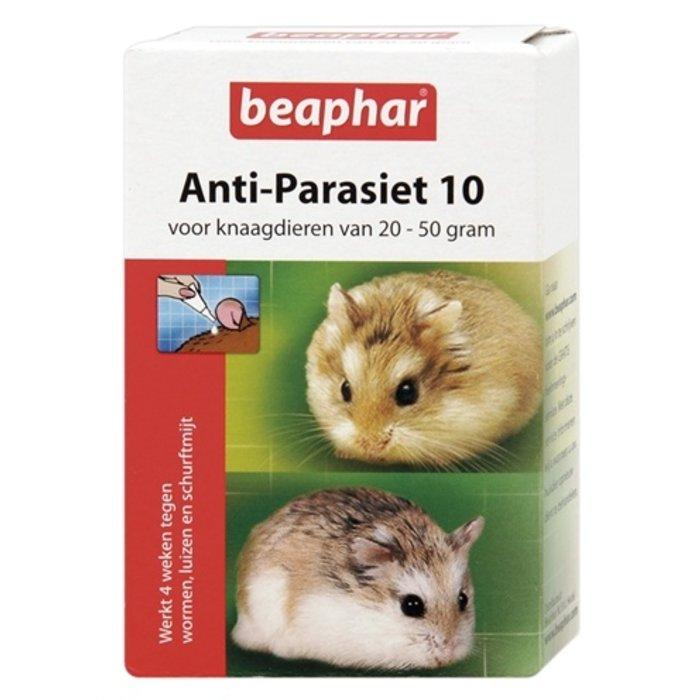Beaphar anti-parasiet 10 knaagdier