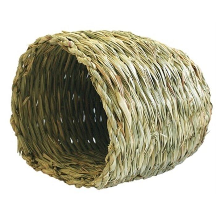 Happy pet grassy nest