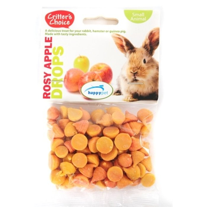 Critter's choice rosey apple drops
