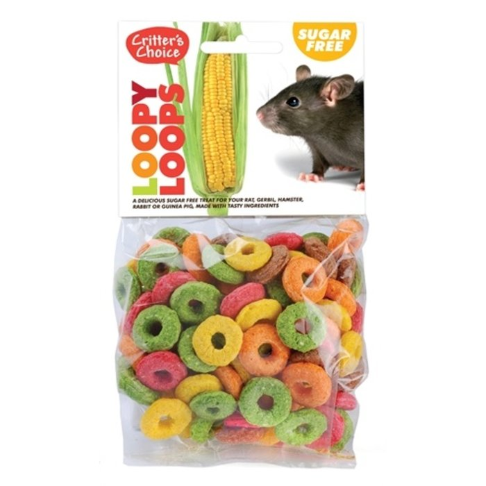 Critter's choice loopy loops