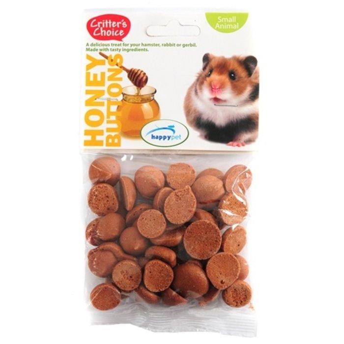 Critter's choice honey buttons