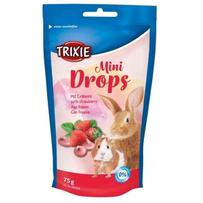 Trixie mini drops aardbei