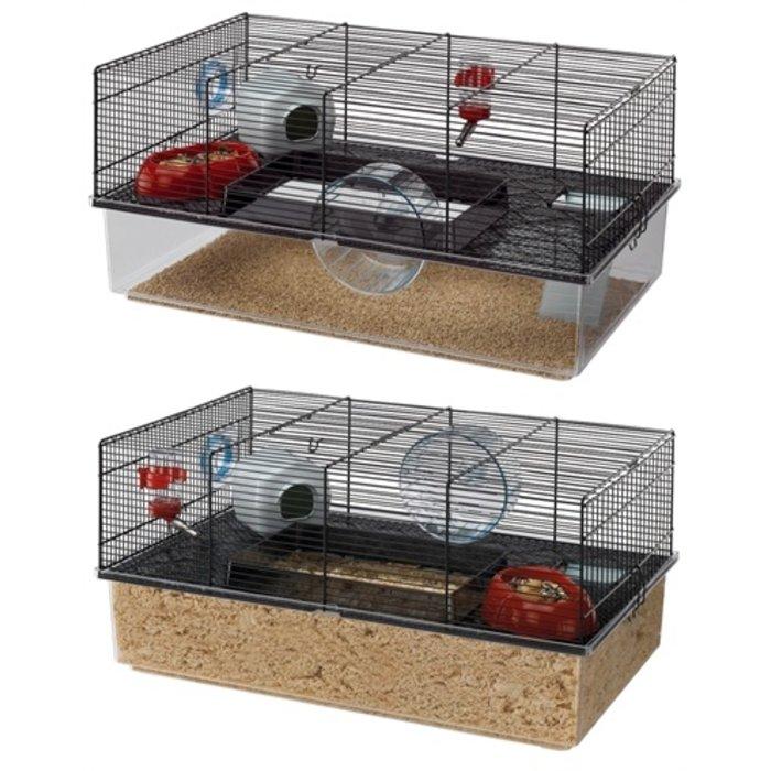 Ferplast hamsterkooi favola zwart