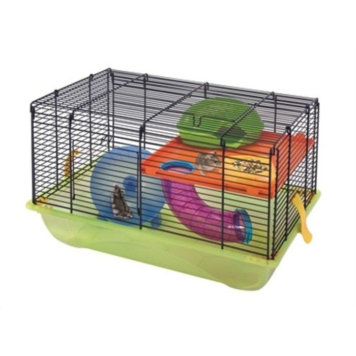Imac hamsterkooi criceti 9 donkerblauw / geel