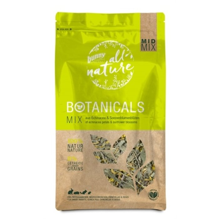 Bunny nature botanicals midi mix rudbeckiablad / zonnebloembloesem