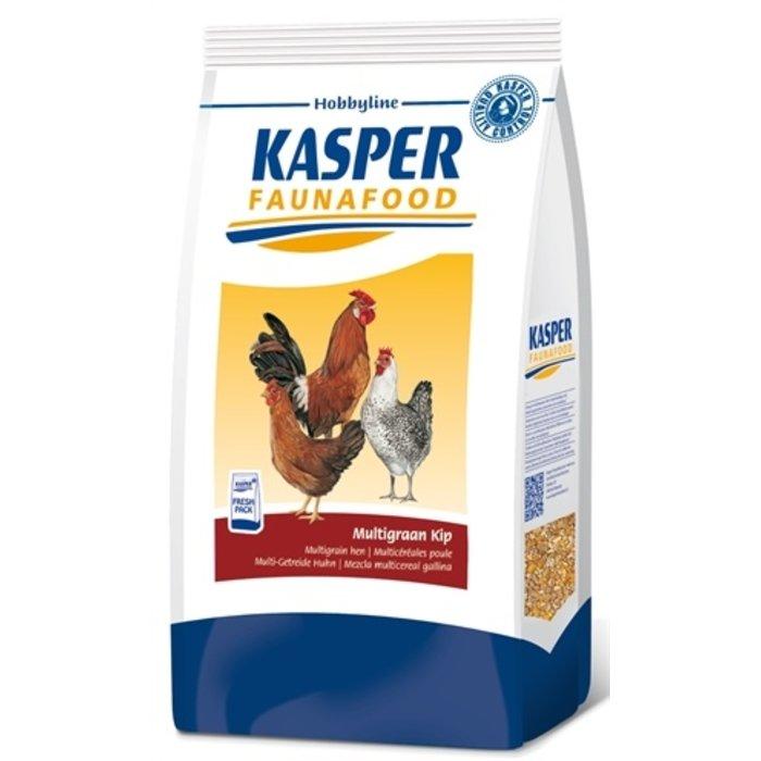Kasper faunafood hobbyline multigraan kip