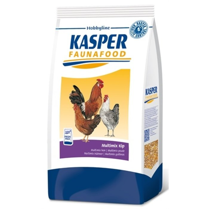 Kasper faunafood hobbyline multimix kip