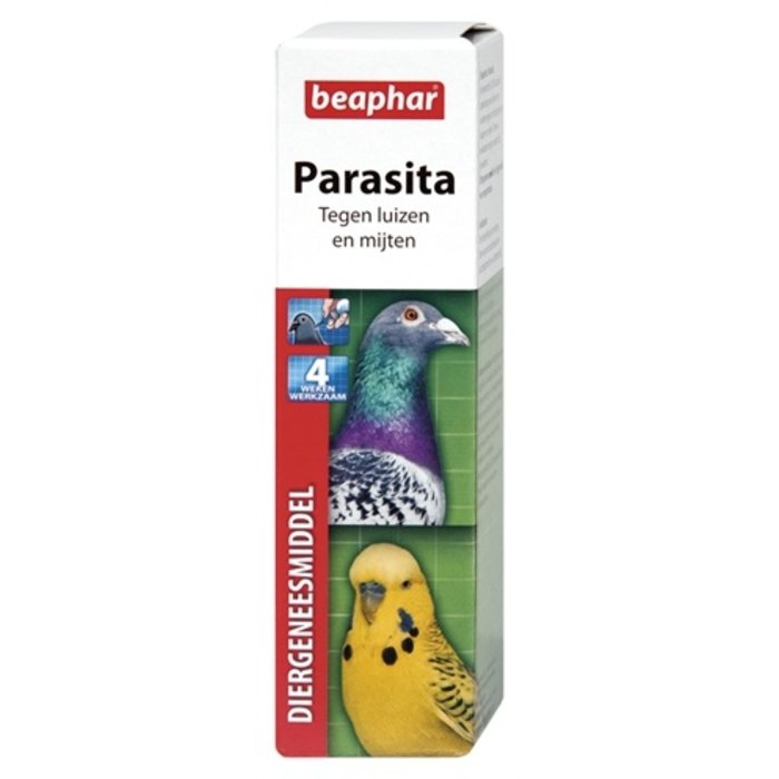 Beaphar parasita luis/mijt bij duiven