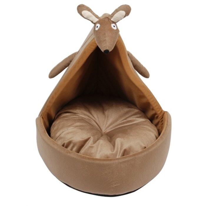 Ministry of pets kattenmand iglo kylie de kangeroe bruin